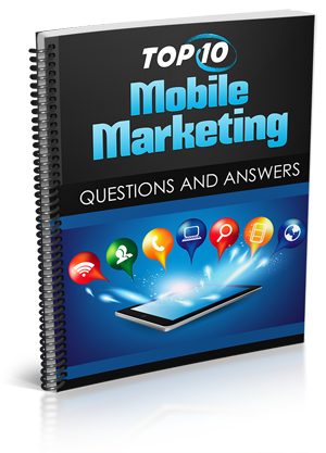 Mobile Marketing Free Report eBook Cover