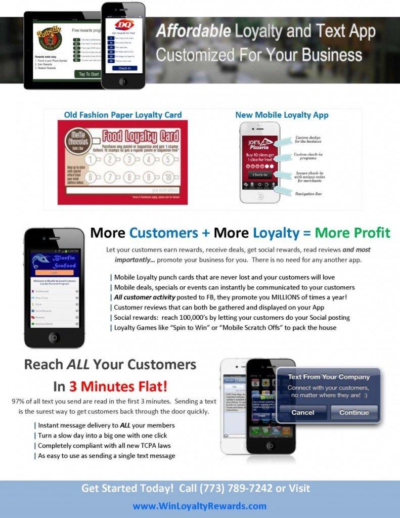 Custom mobile loyalty program